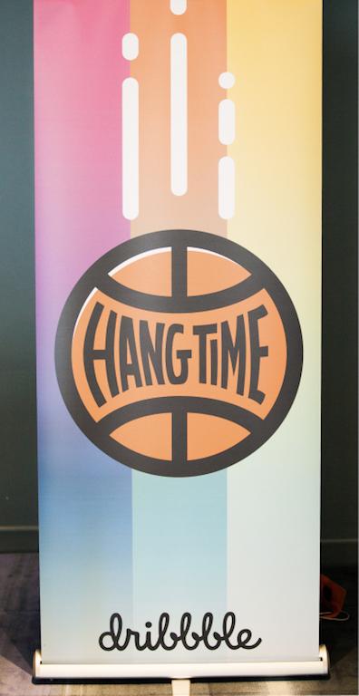 Hangtime banner