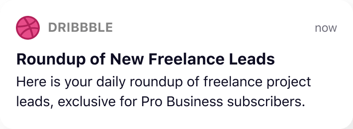 Roundup of New Freelance Leads
