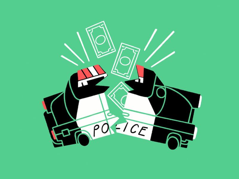 Defund The Police by Mick Champayne
