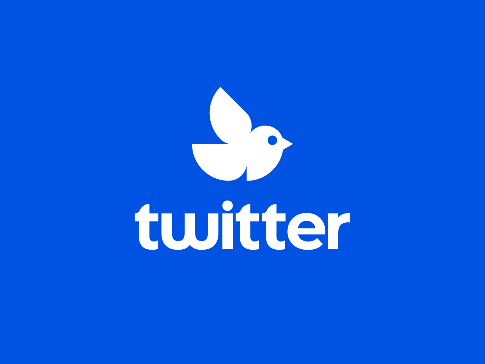 Twitter Logo Proposal (For Fun) by Myles Stockdale