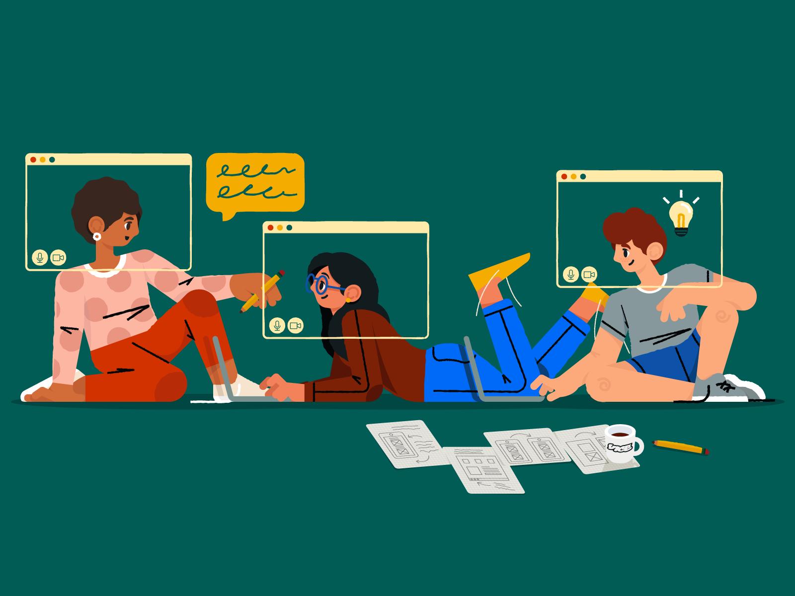 Remote Work: Designing VICE by Ka Lee for MetaLab