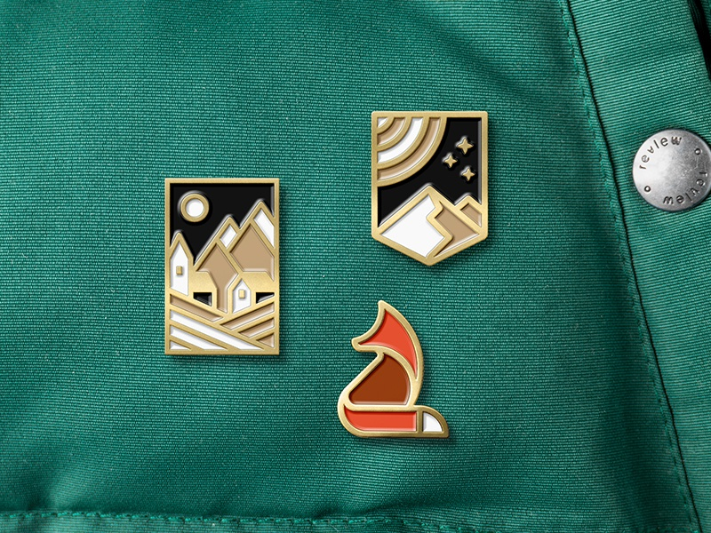 Enamel Pins by Marcus Rentsch