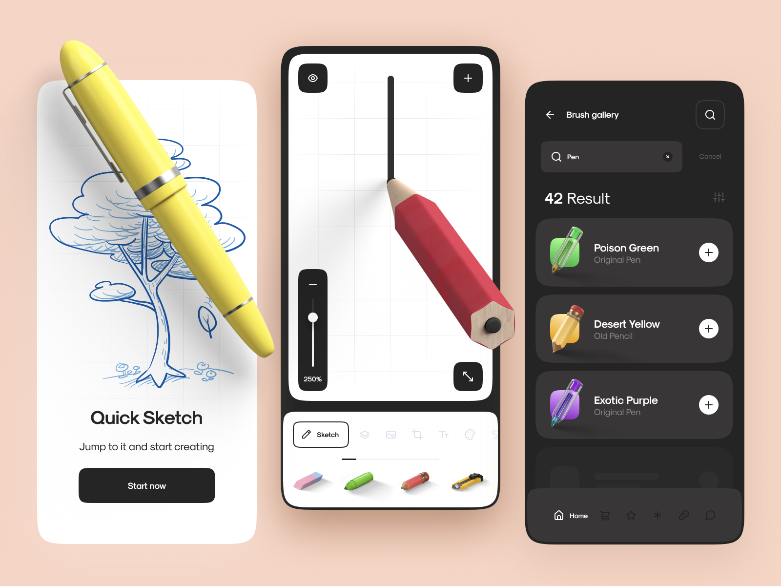 Smart Sketch App Interaction by Atuka for UBANI