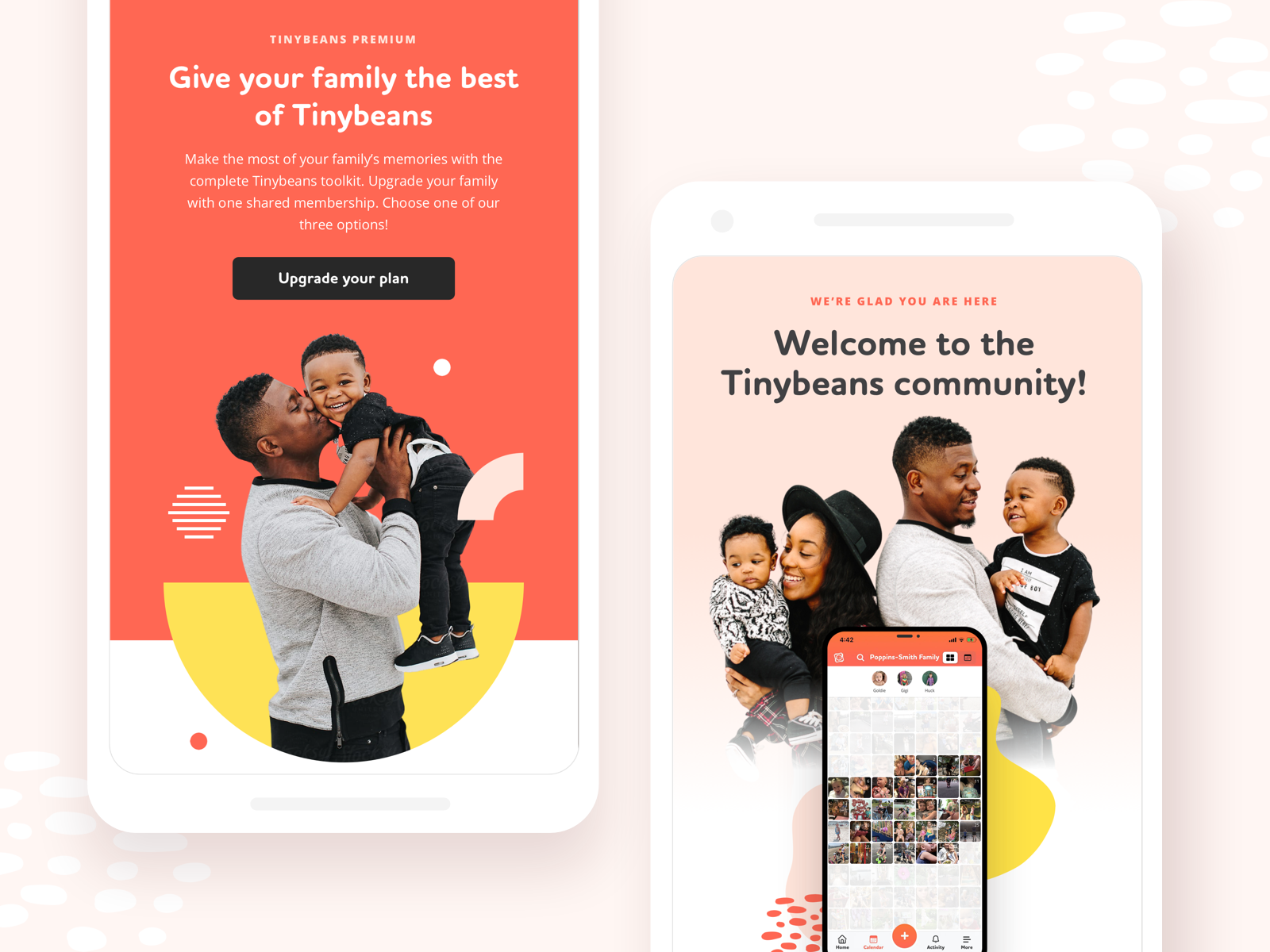 Onboarding Email Designs by Janna Hagan