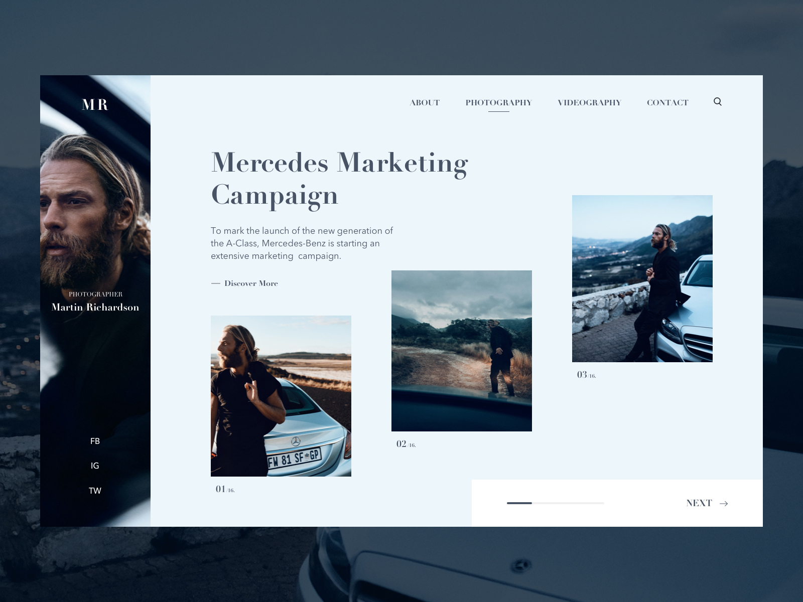 Mercedes Marketing Campaign Concept by Anastasia Eletskaya