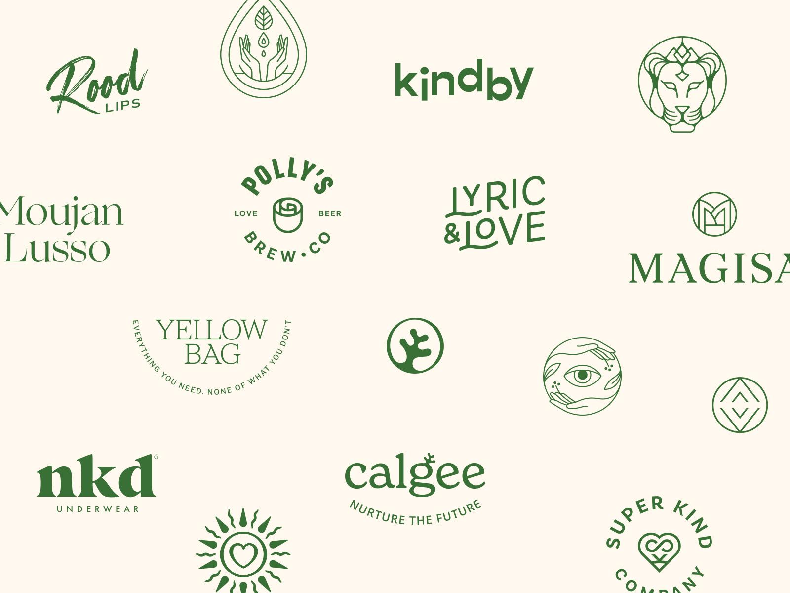 Logos of 2020 by Alexandra Necula