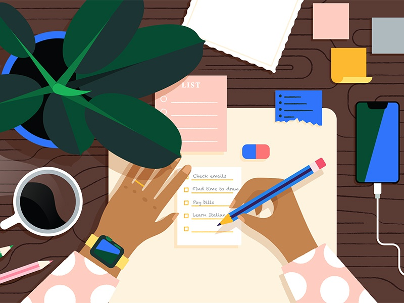List-making by Morgane Sanglier