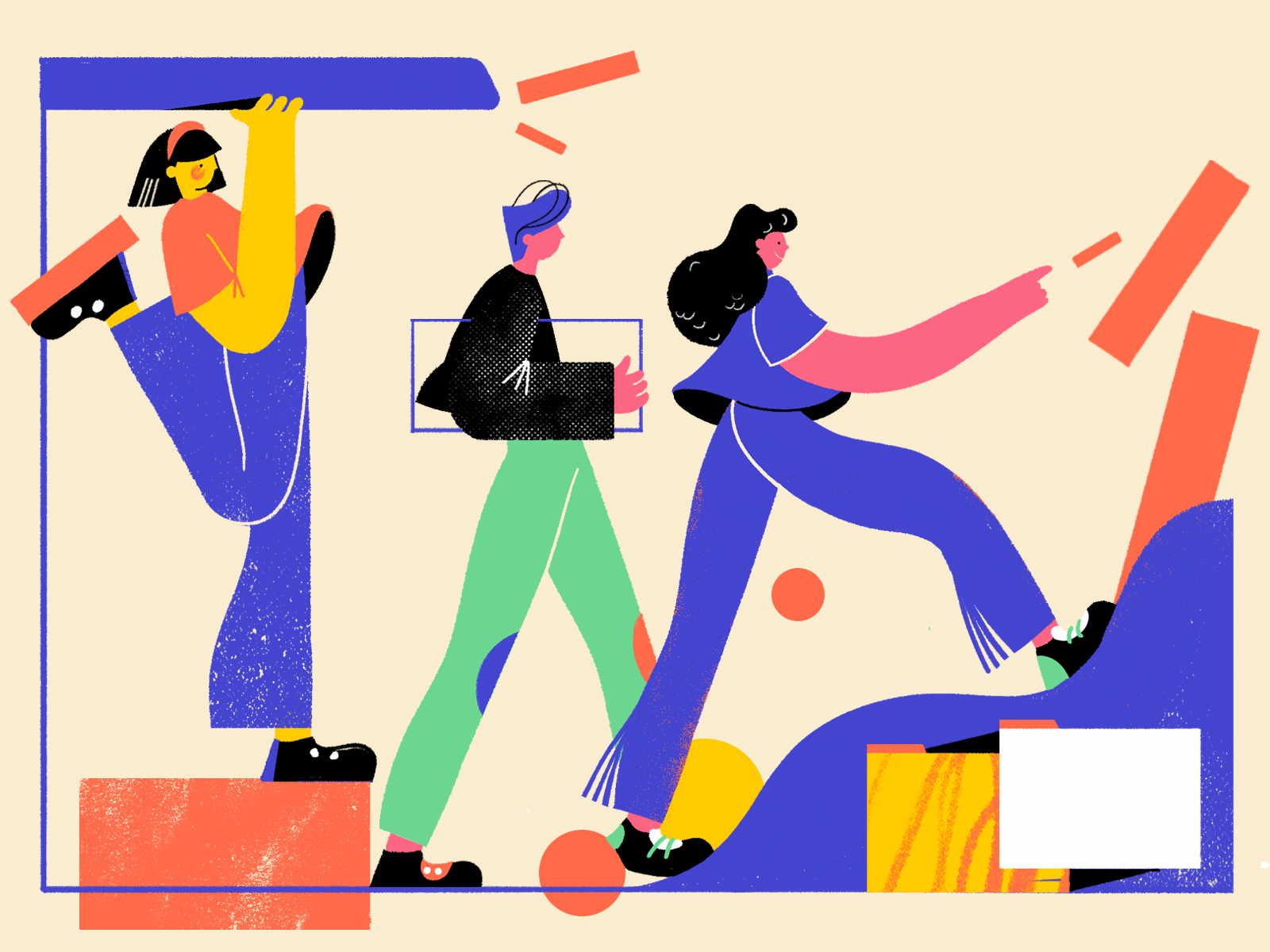 Designer Way Illustration by tubik.arts