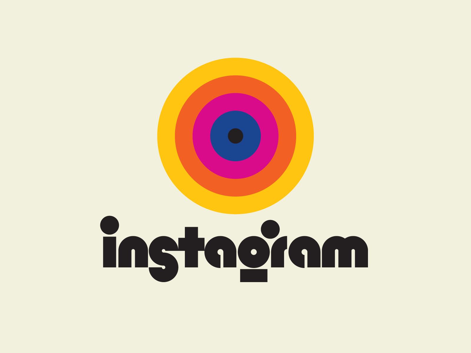 Retro Instagram logo