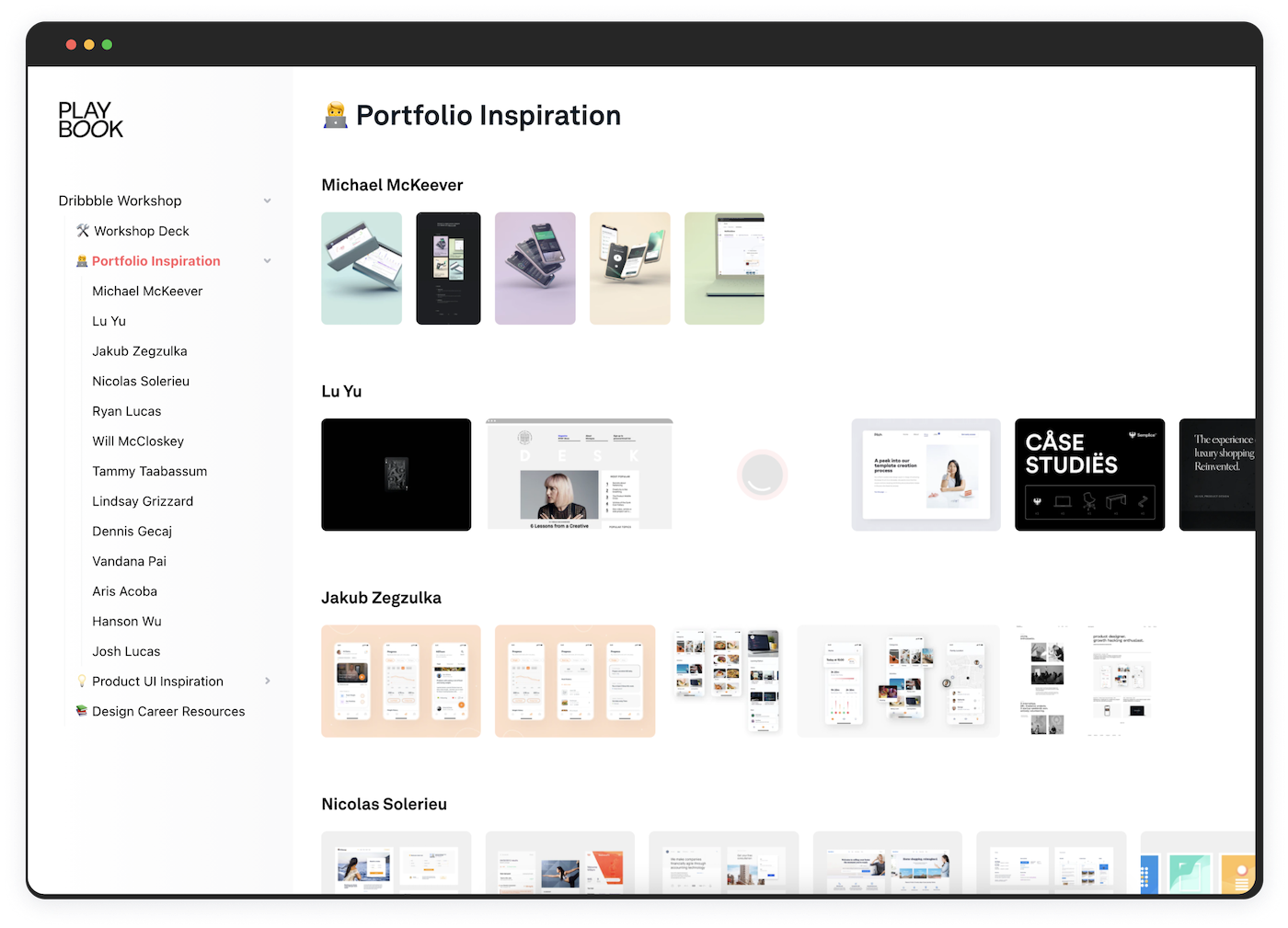 design portfolio webinar