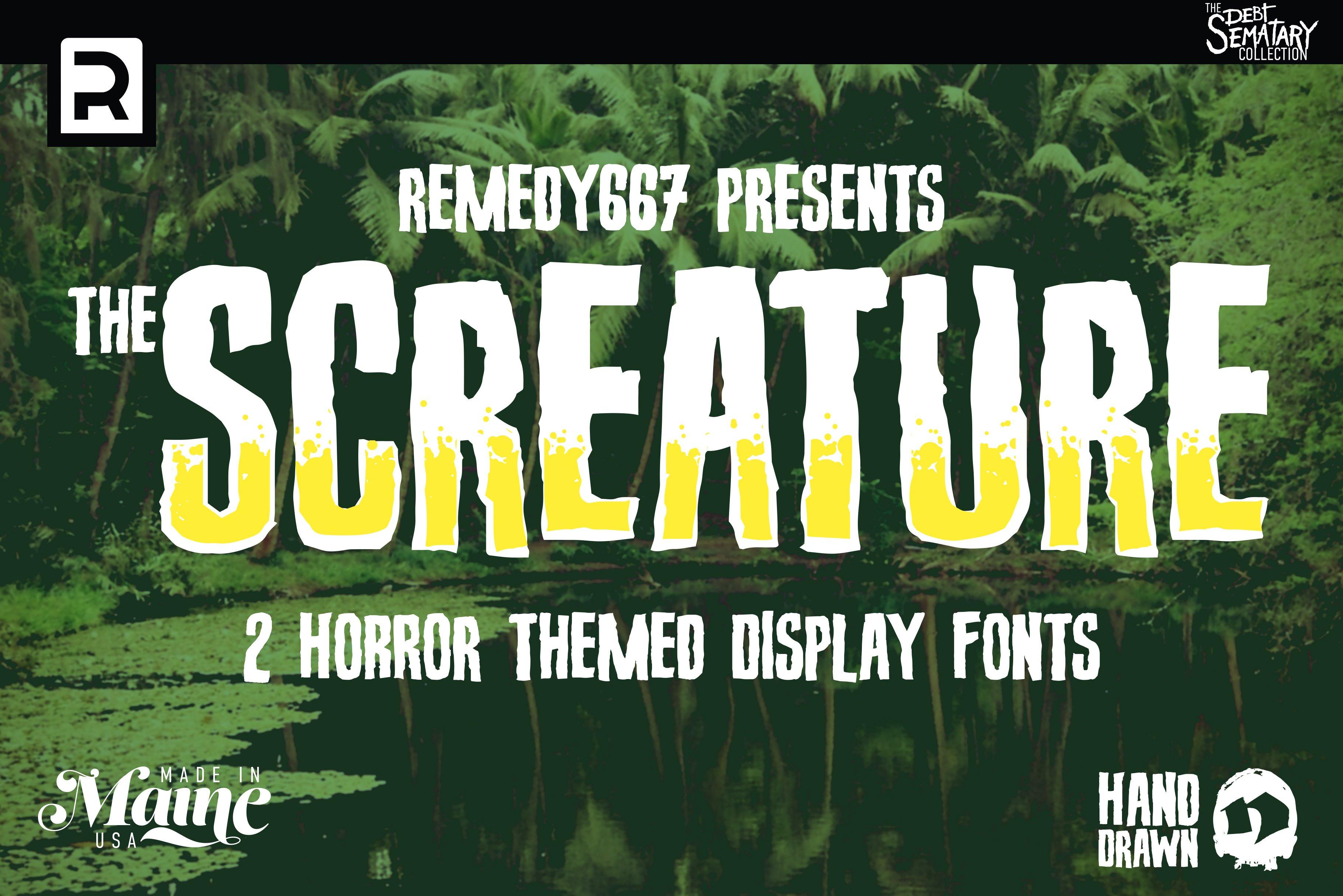 spooky fonts
