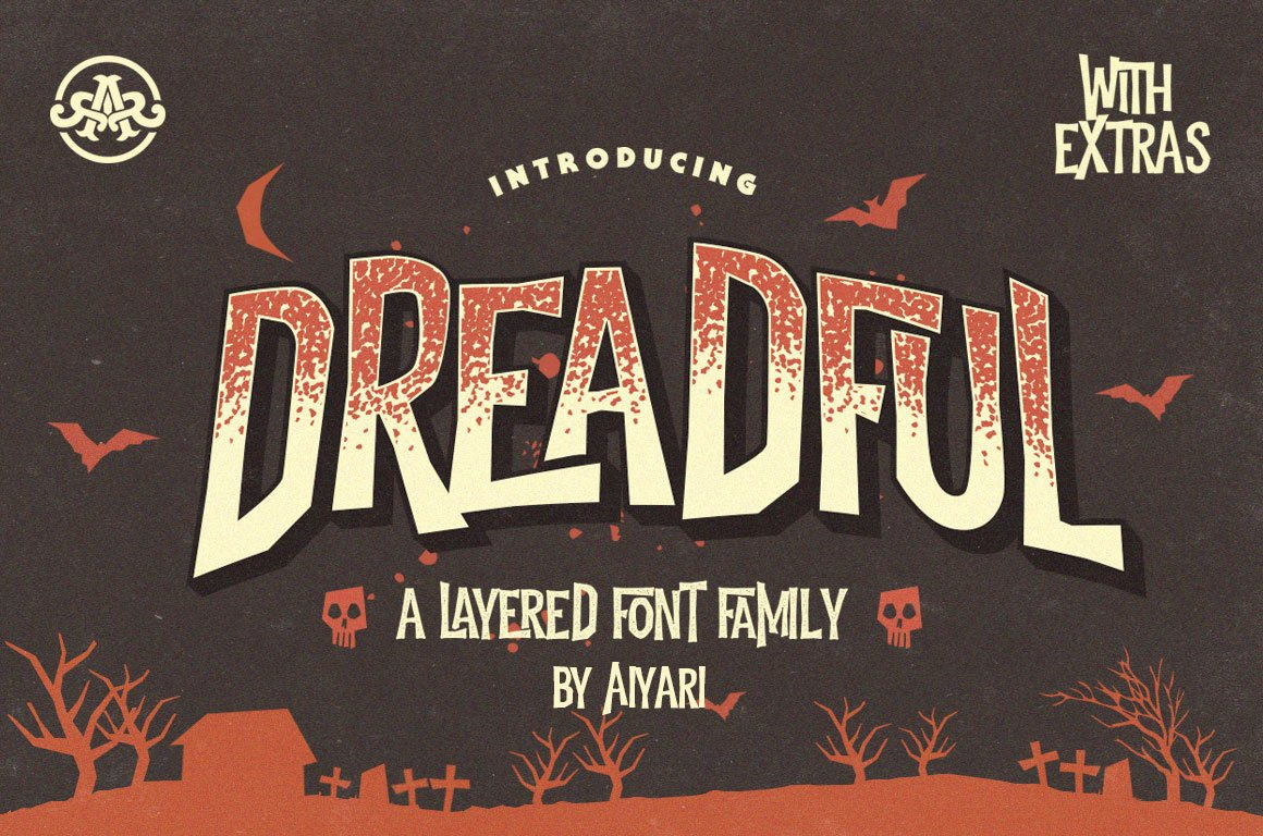 Halloween typeface
