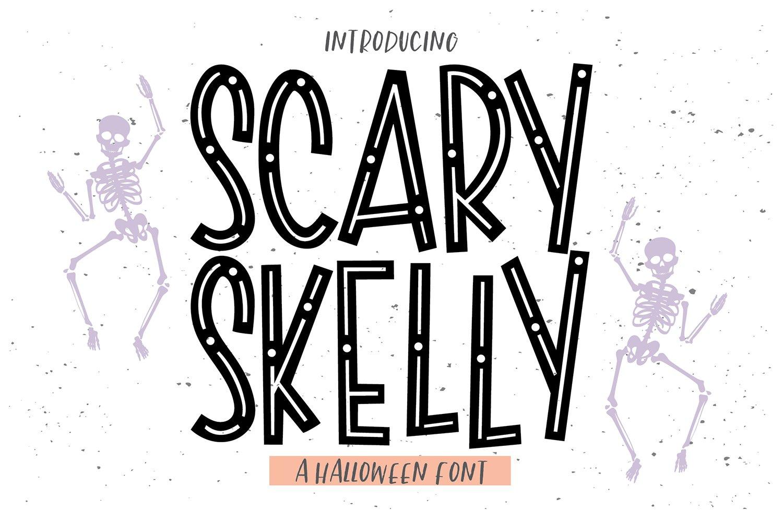 Skeleton fonts