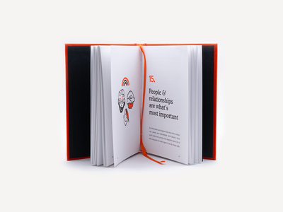 Twenty Bits I Learned doodles hardcover print book simplebits advencher