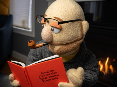The book is shipping! puppet book simplebits advencher
