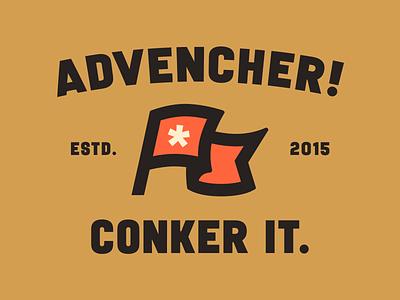 Conker it. vaultalarm illustration simplebits advencher