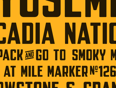 Parkly Test typedesign font typeface simplebits