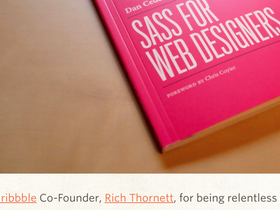 Sass For Web Designers sass book abookapart simplebits