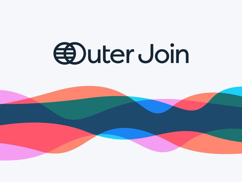 Outer Join brand identity logodesign branding logo