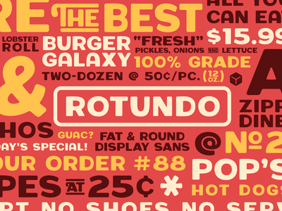 Introducing Rotundo! rotundo typedesign font type simplebits