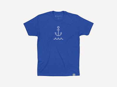 New Anchor Tee anchor icon tshirt simplebits