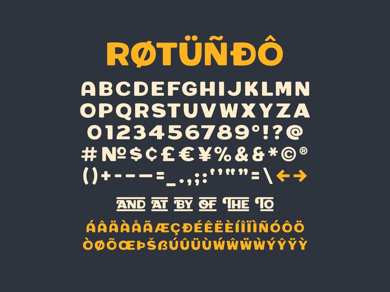 Rotundo Update typedesign rotundo font simplebits