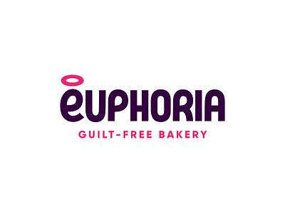 Euphoria Logo bakery customtype branding logo simplebits
