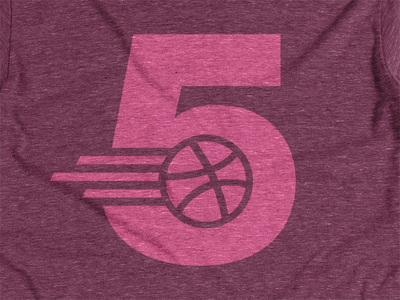 5th Birthday Party at Dribbble HQ dribbble birthday five pink shirt