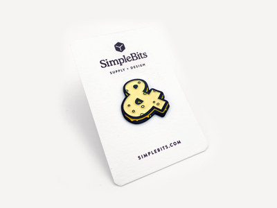 Ampersandwich Pin enamelpin pin ampersand ampersandwich simplebits