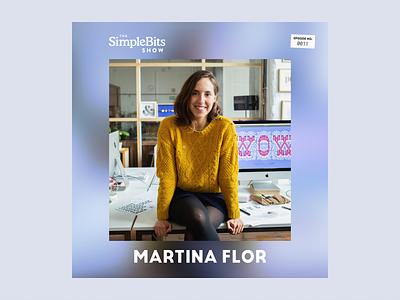 The SimpleBits Show #11: Martina Flor albumcover podcast simplebits