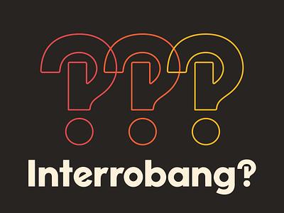Interrobang type typeface font interrobang simplebits