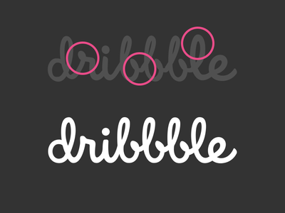 Tales from the Script dribbble logo refine script