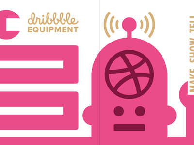 Dribbbot Scout Book dribbbot dribbble notebook scoutbook print