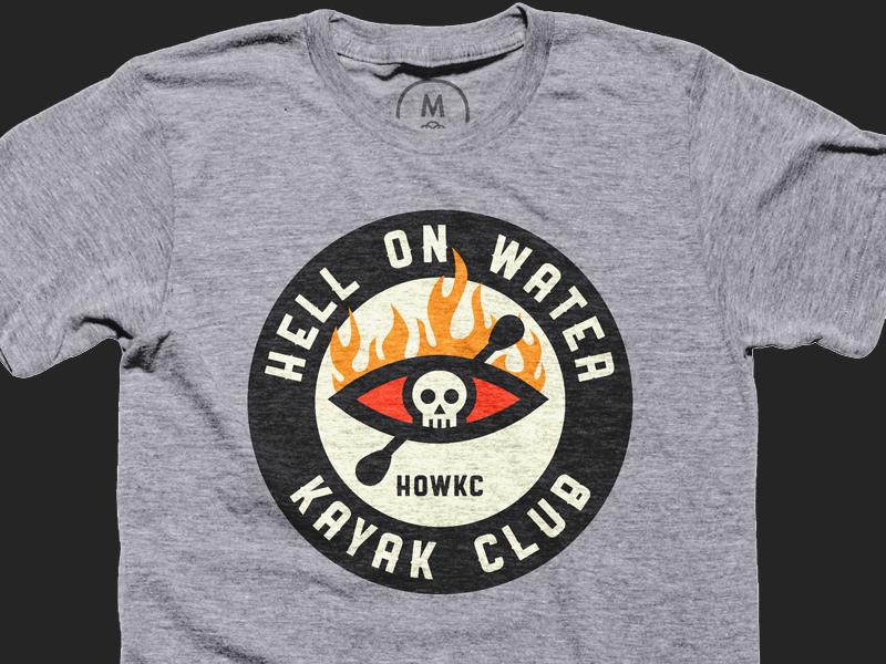 The Official HOWKC Tee howkc kayak tee tshirt cottonbureau