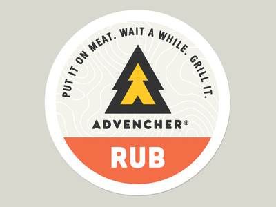 Advencher® Rub Sticker