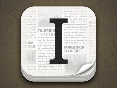 Instapaper 4 icon instapaper ios icon app