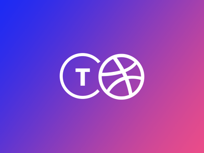 A Tiny Announcement gradient logo tiny dribbble