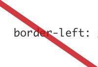 Border Left