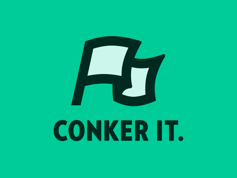 Conker it. verlag vector flag advencher
