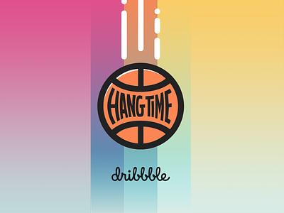 Hangtime Banner gradient banner logo event dribbble hangtime