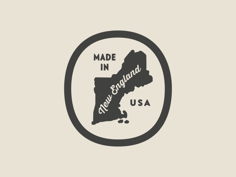 Made in New England vector seal newengland