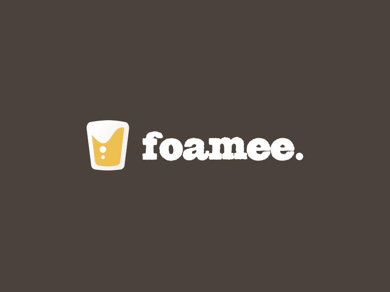 Foamee ioubeer beer logo branding