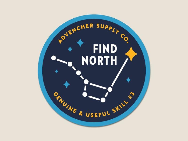 Find north patch