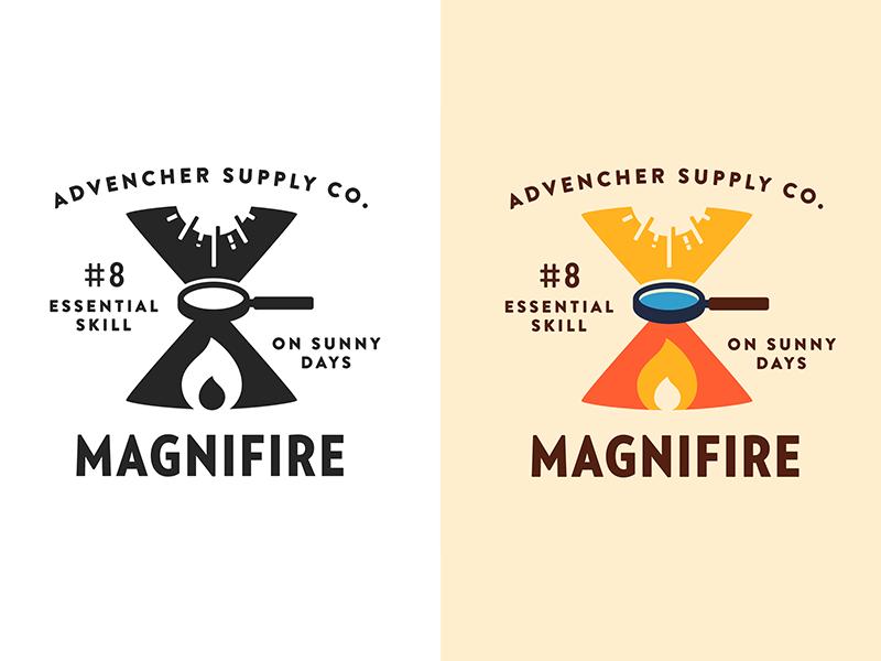 Magnifire verlagcondensed brandontext vector advencher