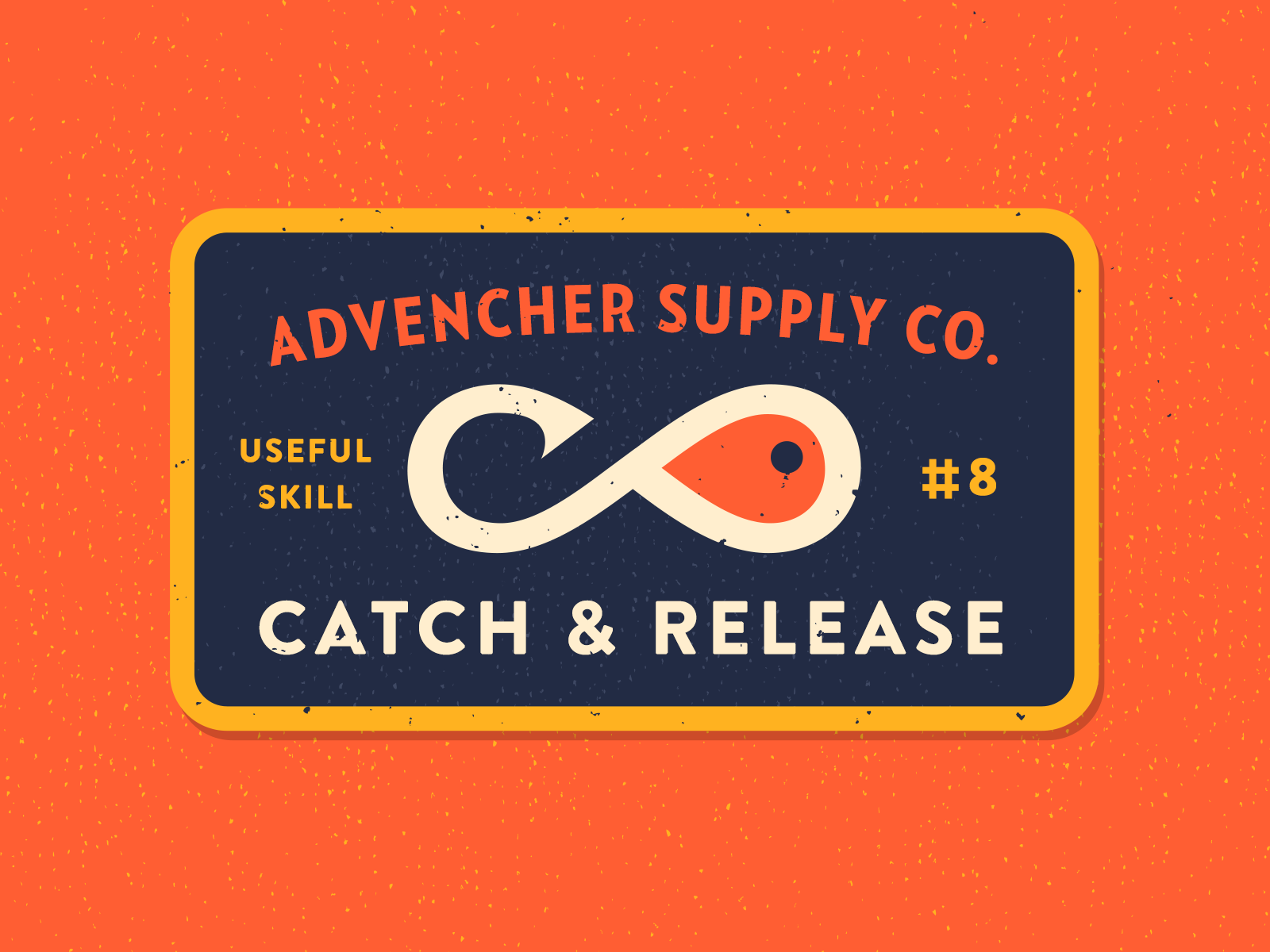 Catch and release badge 4x
