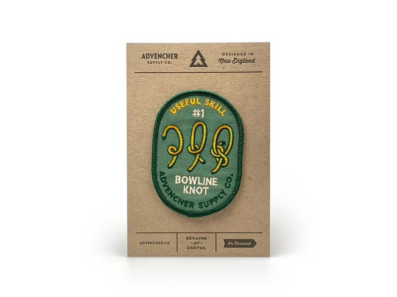 Useful Skills Patch letterpress embroidered patch patch advencher
