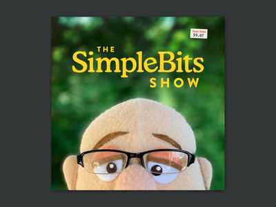 The SimpleBits Show cooper puppet cover podcast simplebits