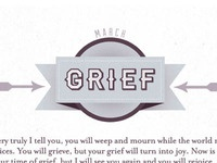 March is for Grief