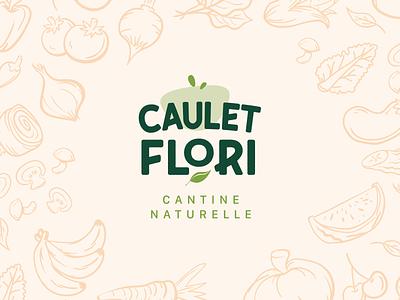 BRANDING - Caulet Flori design illustration minimal branding logo art direction