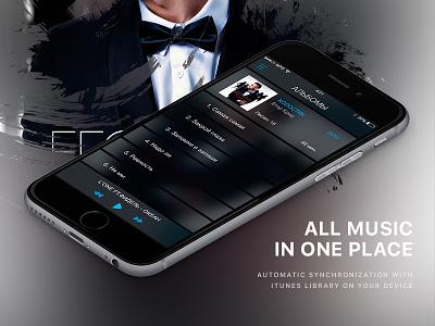 Vk Music App / Album graphic design uiux web design app music player ios android watch listen download